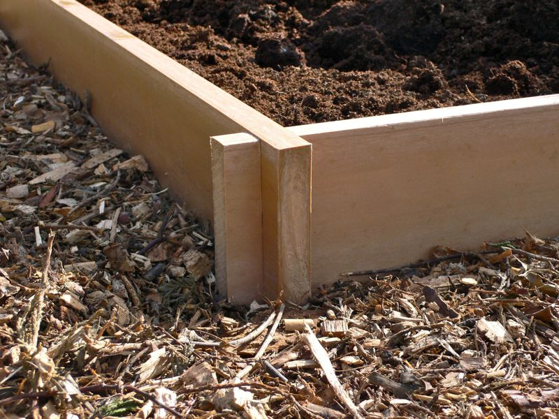 Raised Bed Raised Garden Bed Flower Bed Recycled Plastic Trade