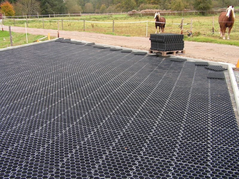 Recycled Plastic Paving is suitable for: