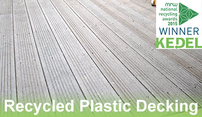 Recycled Plastic Decking Kedel