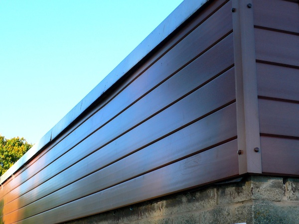Recycled Plastic Cladding Exterior Cladding Panels Wall V Cladding 3metre Trade