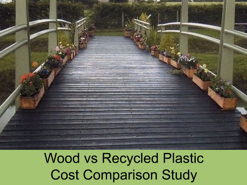 Plastic decking trade for Recycled decking material