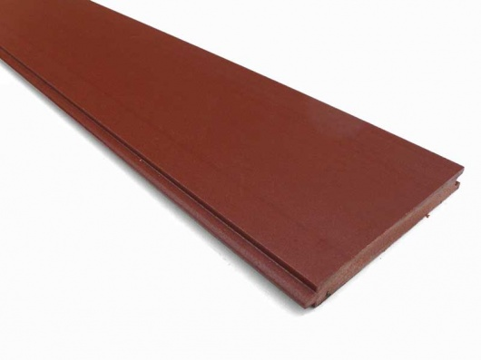 Recycled plastic wood synthetic wood t g 125 x 15mm - Exterior tongue and groove cladding ...