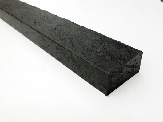 Recycled Plastic Lumber | Mixed Plastic | Roofing Batten -  50 x 25mm