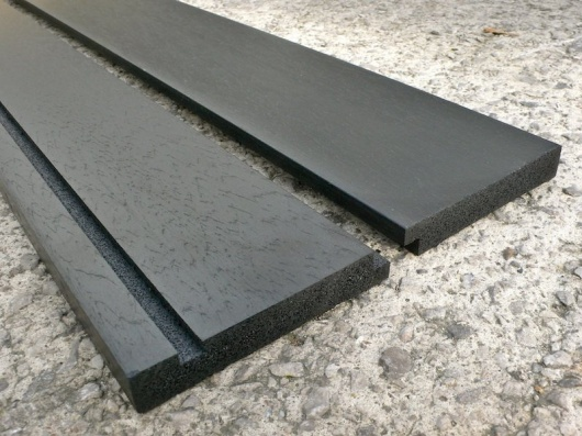 Fascia Boards - 3000 x 230 x 20mm - Recycled Plastic Wood