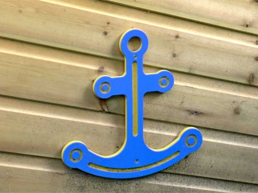 Pirate Ship Anchor Playground Accessory - HDPE Recycled Plastic