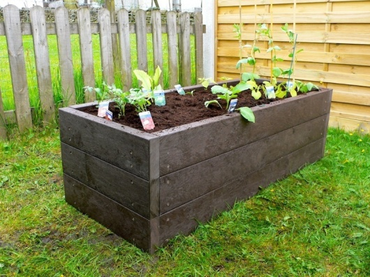 Recycled Mixed Plastic Raised Beds Trade