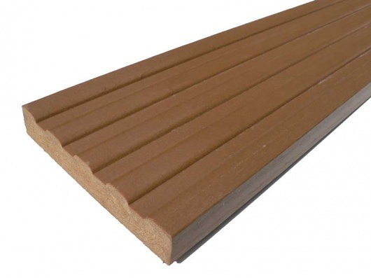Plastic wood decking 120 x 20mm x 3m trade for 3m composite decking boards