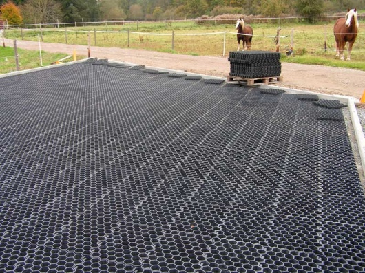 Recycled Plastic Paddock Reinforcement Grid