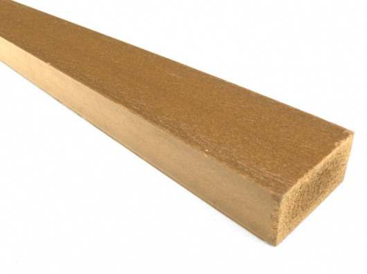 Plastic wood synthetic wood recycled plastic 50 x 25mm Reusable wood