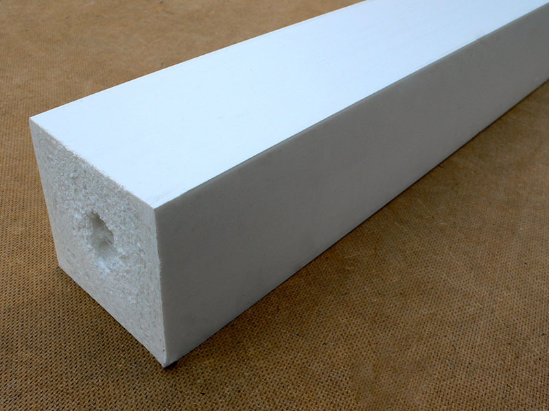 Recycled plastic wood square post 88 x 88mm trade for Building with recycled plastic