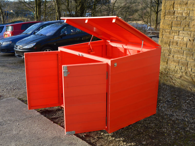 Lockable Storage | Tool and Toy Shed | Recycled Plastic - Kedel.co.uk