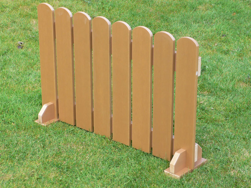 Picket Fence Panels Recycled Plastic Wood Trade