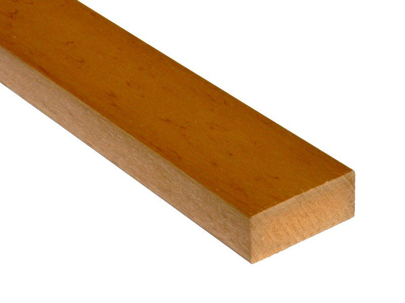 Recycled plastic wood 70 x 30mm trade for Plastic building materials
