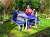 Colour: Blue Tops,  Type: Adult, Age 14+ Table (H)760mm - Seat (H)460mm