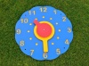 Recycled Plastic Wall Clock | 'Tell the Time' Teaching Aid