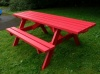 Derwent Recycled Plastic Picnic Table | Wheelchair friendly