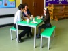 Colour: Green Tops,  Type: Adult, Age 14+ Table (H)760mm - Seat (H)460mm