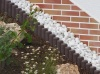 Recycled Mixed Plastic Ogee Interlocking Palisades | Hollow Profile