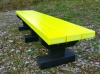 Colour: Yellow Slats/Black Base,  Size: (L)1500 x (W)310 x (H)305 x (SH)305mm