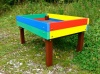 Rainbow Coloured Raised Bed / Planter | Recycled Plastic Wood