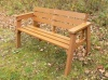 Thames Garden Bench - 3 Seater | Recycled Plastic Wood