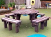 Colour: Brown,  Type: Adult, Age 14+ Table (H)760mm - Seat (H)460mm
