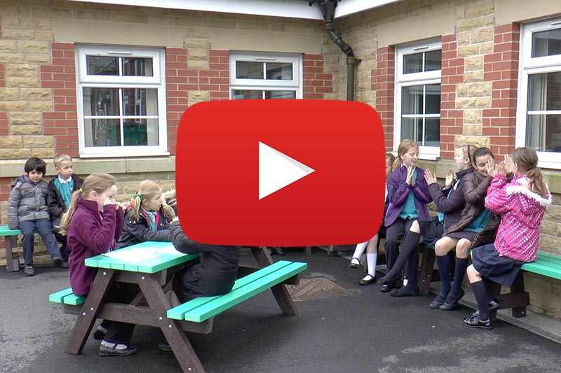Recycled Plastic Picnic Tables Case Study Video link