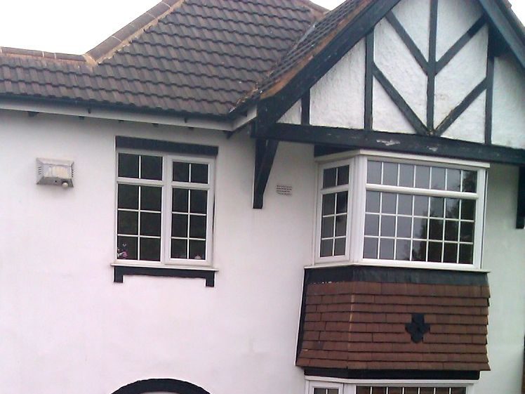 Private house traditional cladding