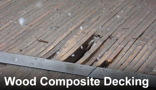 Large Deck Boards ~ Reasons to avoid wood plastic composite decking and