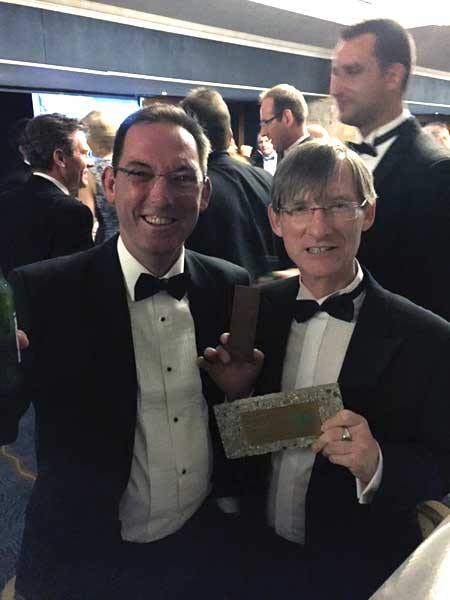 Winners of the 2015 'Best Recycled Product' Award Trade