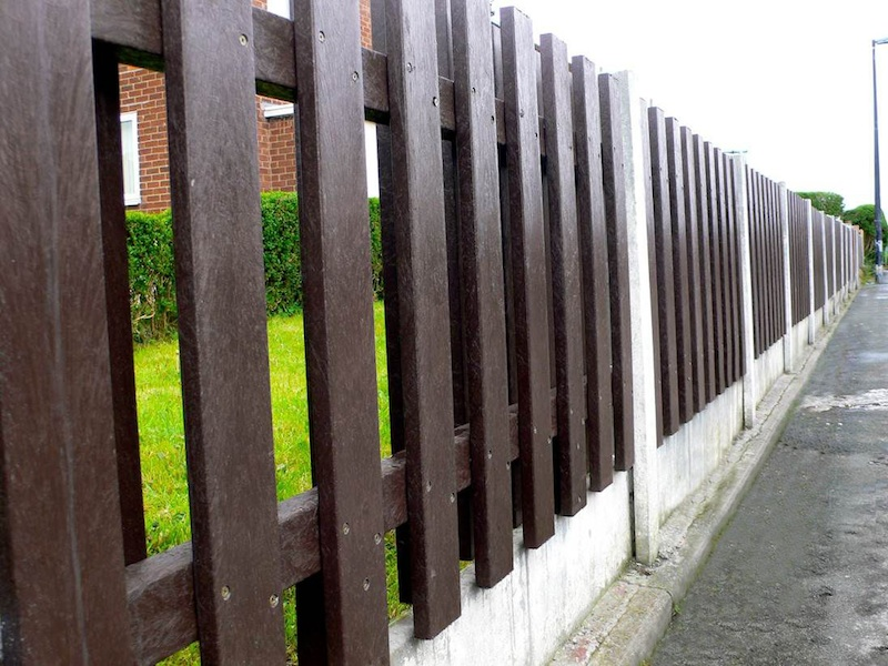 Case Study | Recycled Plastic Fencing | Housing Association Project