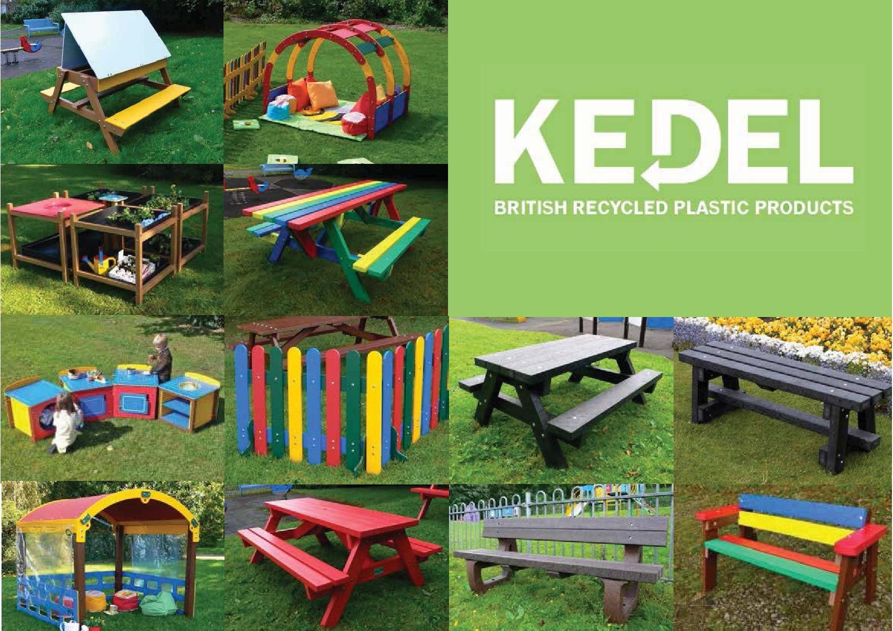 Recycled Plastic for Schools - Full Product Range Brochure