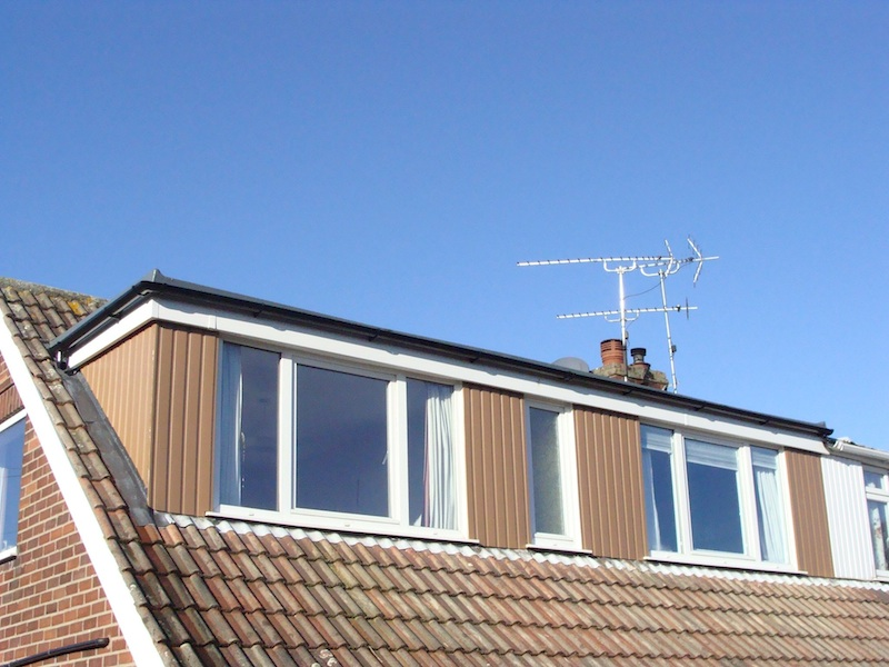 Kedel Recycled Plastic Cladding on Dormer
