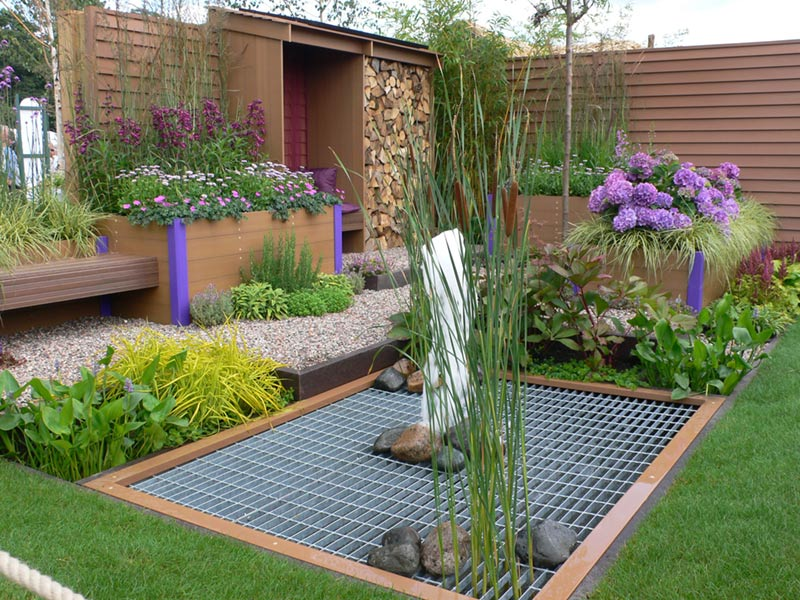 Envirolink Project with Kedel Limited win Silver | RHS Tatton Park | Waterproof and Future Proof Garden