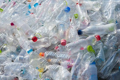 waste-recycled-plastic-water-bottles-china