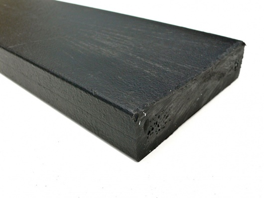 Recycled Mixed Plastic BATTEN | FENCING PALE 100 x 25 Square Head