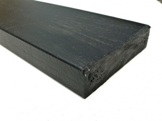 Recycled Mixed Plastic BATTEN | FENCING PALE Profile 100 x 25 Square top