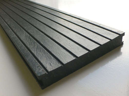 Recycled mixed plastic decking 195 x 28mm trade for Recycled decking material