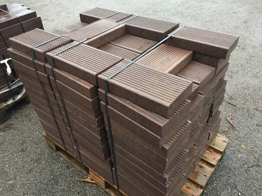 Recycled Plastic Decking Boards | 197 x 60mm | Off-cuts