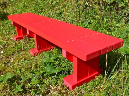 Derwent Junior Seat/Bench - Recycled Plastic Wood