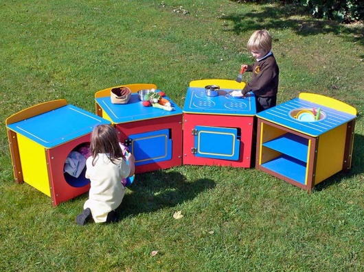 Children's Outdoor Play Kitchen Set | Recycled Plastic