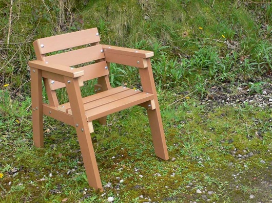 Thames Chair - recycled plastic wood