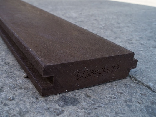 Recycled Mixed Plastic Tongue and Groove | 130 x 38mm | For View Protection Wall