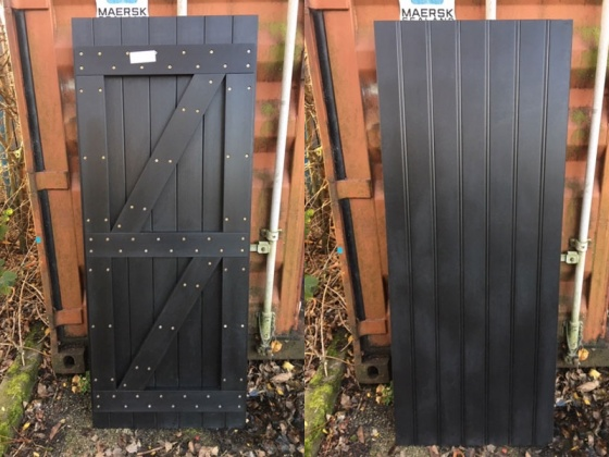Recycled Plastic Back Gates - Various Clearance Sizes