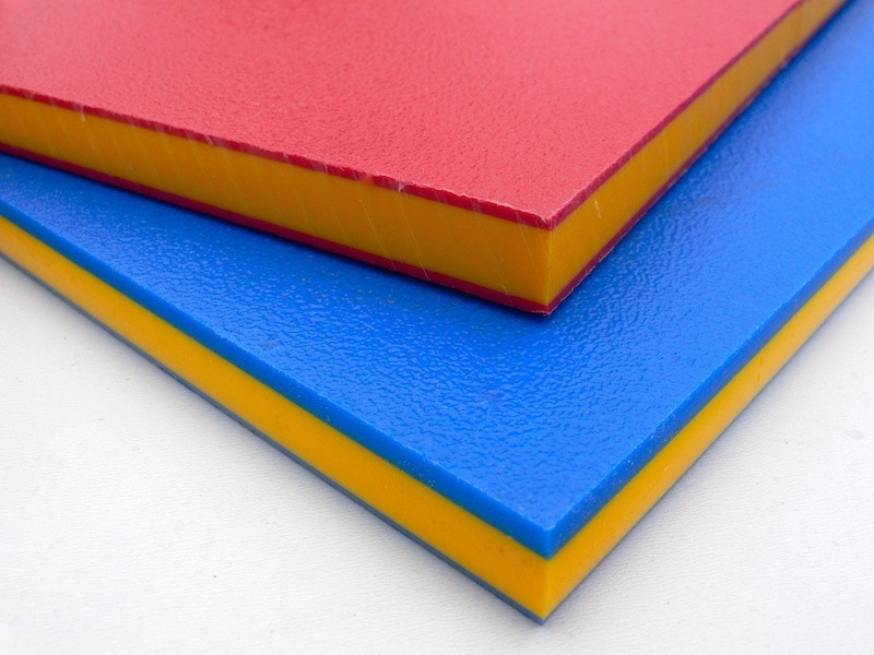 HDPE Sheet - Sandwich Colours - Plastic