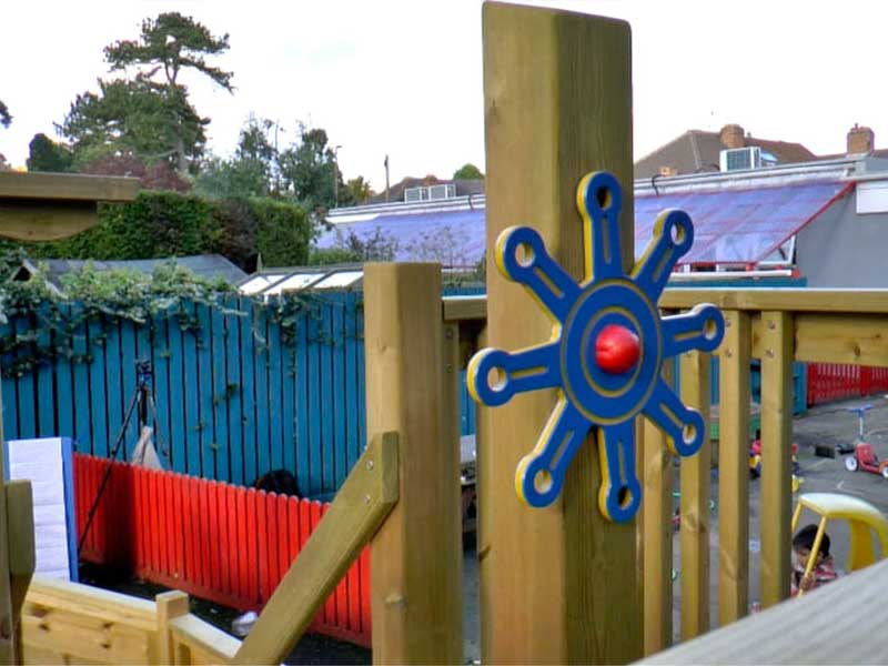 Pirate Ship Steering Wheel | Outdoor Play | HDPE