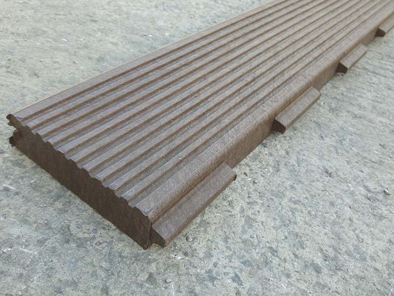 Recycled Mixed Plastic Footpath Planks Reinforced 197 x 40