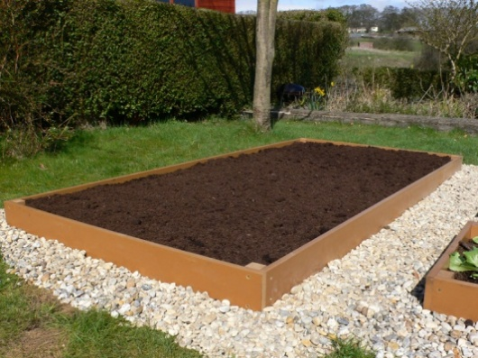 Raised Bed Raised Garden Bed Flower Bed Recycled