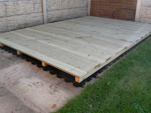 Recycled Plastic Shed Base