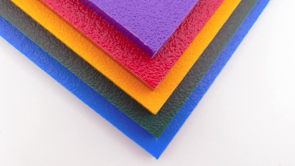 Coloured HDPE Sheet - up to 80% recycled plastic